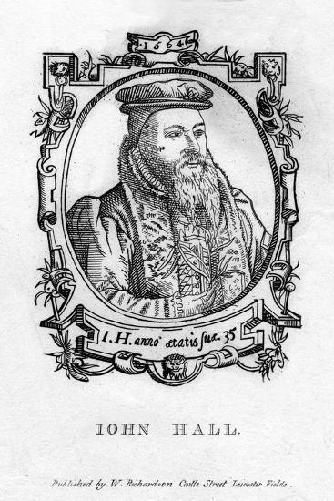 John Hall (C1575-163), English Physician--Giclee Print