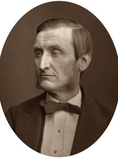 John Hall Gladstone, President of the Chemical Society, 1880-Lock & Whitfield-Photographic Print