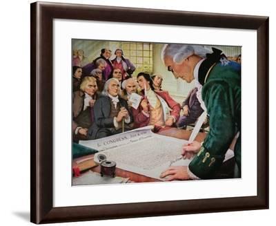 John Hancock--Framed Giclee Print