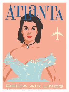 Atlanta, Georgia - Southern Belle - Delta Air Lines by John Hardy