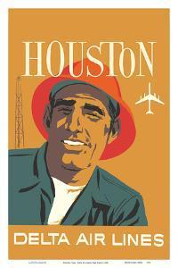 Houston, Texas - Delta Air Lines by John Hardy