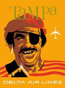 Tampa, Florida - Delta Air Lines - Pirate Buccaneer by John Hardy