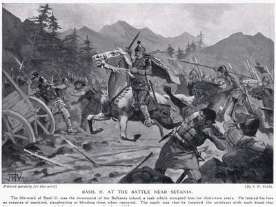 Basil II, at Battle Near Setania 1017 AD