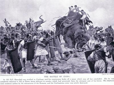 The Battle of Zama 203 BC