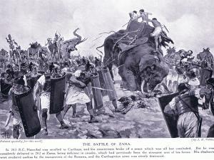 The Battle of Zama 203 BC by John Harris Valda