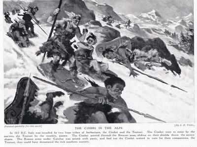 The Cimbri in the Alps