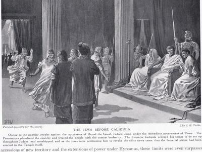 The Jews before Caligua