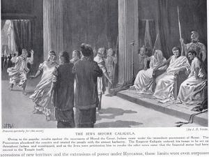 The Jews before Caligua by John Harris Valda