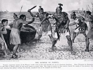 The Murder of Pompey by John Harris Valda