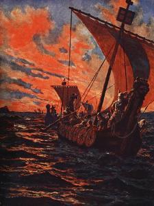 The Return of the Vikings by John Harris Valda