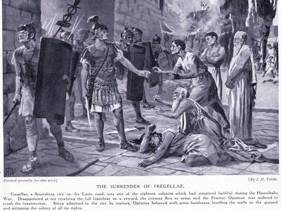 The Surrender of Fregellae