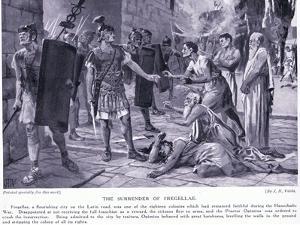 The Surrender of Fregellae by John Harris Valda