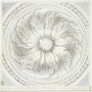 Surround from the Ceiling of St George the Martyr, Southwark, London, 1831 by John Hassell