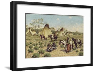 Sioux Encampment, Porcupine, 1910