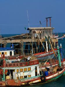 Fishing Boat Hua Hin, Prachuap Khiri Khan, Thailand by John Hay