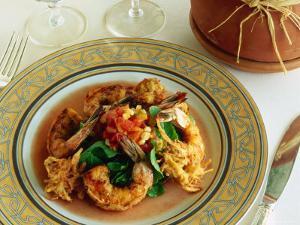 Seafood Meal at Phoenician Resort, Scottsdale, Arizona, USA by John Hay