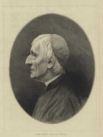 John Henry, Cardinal Newman--Giclee Print
