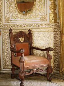 An Original Chair Used at the Coronation of King George the Fifth in 1911, Sirohi, India by John Henry Claude Wilson
