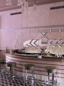 Art Deco Period Bar Area, Usha Kiran Palace Hotel, Gwalior, Madhya Pradesh State, India by John Henry Claude Wilson
