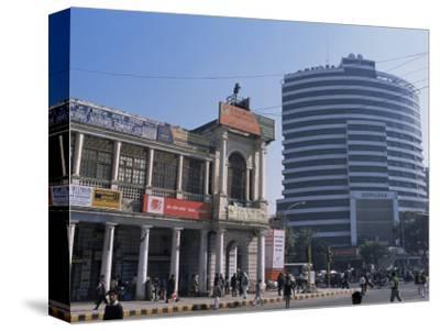 Old and New Architecture, Connaught Place, New Delhi, Delhi, India