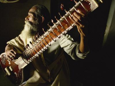 Sitar Player, India