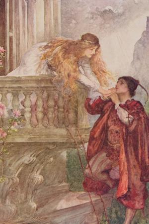Romeo and Juliet from 'Children's Stories from Shakespeare' by Edith Nesbit (1858-1924) Pub. by…