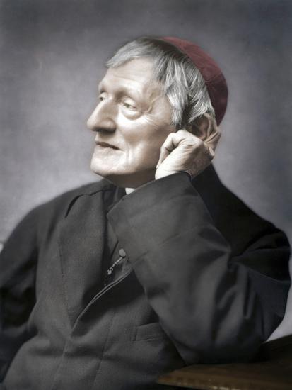 John Henry Newman, British cardinal, late 19th century-Unknown-Photographic Print
