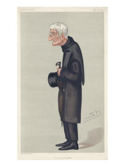 John Henry Newman Catholic Convert, Subsequently a Cardinal--Giclee Print