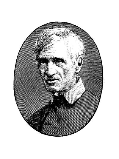 John Henry Newman in Old Age, British Scholar and Theologian, 1879--Giclee Print