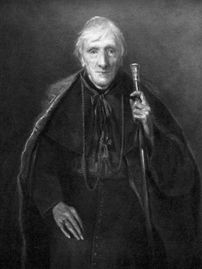 John Henry Newman in Old Age, British Scholar and Theologian, C1885--Giclee Print