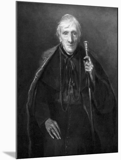 John Henry Newman in Old Age, British Scholar and Theologian, C1885--Mounted Giclee Print