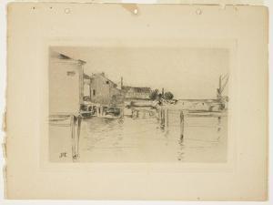 Bridgeport, 1888-1889 by John Henry Twachtman