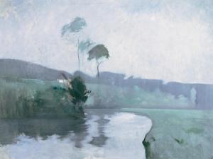 Springtime, C.1884 by John Henry Twachtman