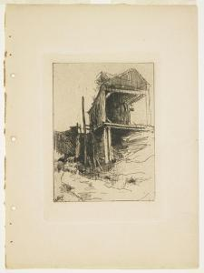 The Abandoned Mill, 1888-1889 by John Henry Twachtman