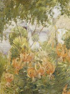 Tiger Lilies by John Henry Twachtman