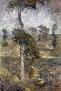 Tulip Tree, Greenwich by John Henry Twachtman