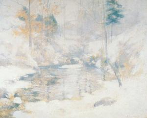 Winter Harmony by John Henry Twachtman