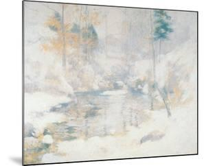 Winter Harmony by John Henry Twachtman