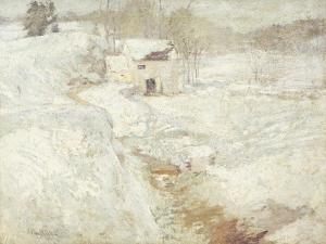 Winter Landscape, 1890's by John Henry Twachtman