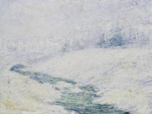 Winter Scene by John Henry Twachtman