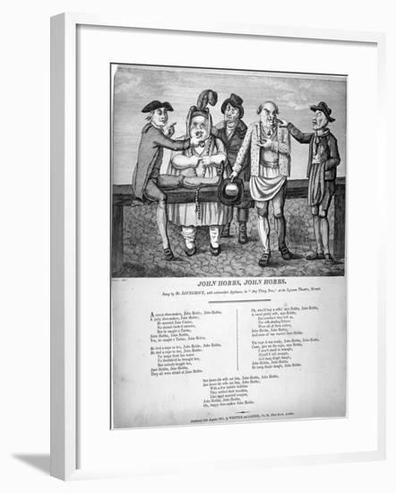 John Hobbs, John Hobbs, 1811-Matthias Finucane-Framed Giclee Print