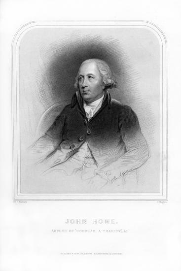 John Home, Scottish Poet and Dramatist-J Rogers-Giclee Print