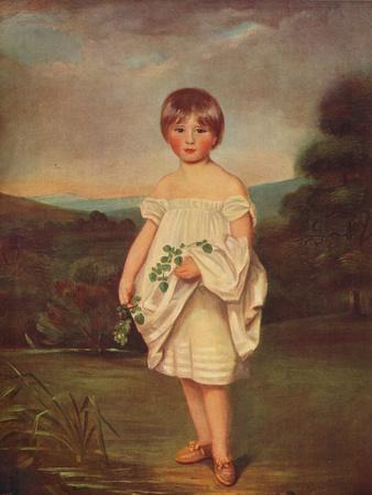'Miss Van Diest', c1800, (c1915)