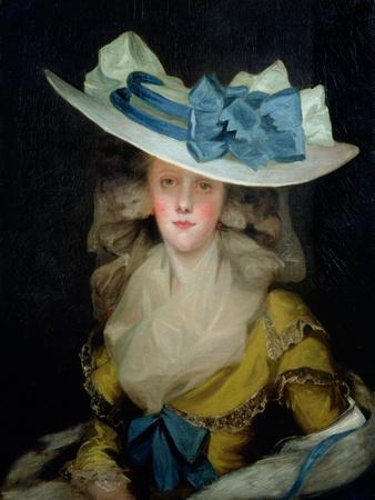 Portrait of Mary Benwell (Fl.1761-1800), C.1785