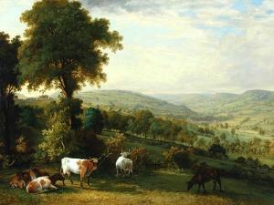 View of Shibden Valley by John Horner