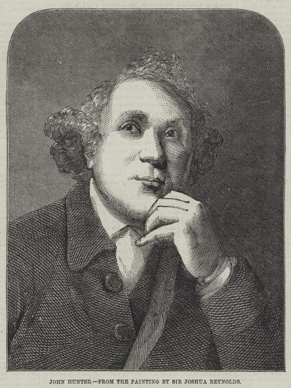 John Hunter-Sir Joshua Reynolds-Giclee Print