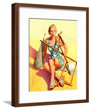 """""""Broken Beach Chair,""""August 12, 1939"""
