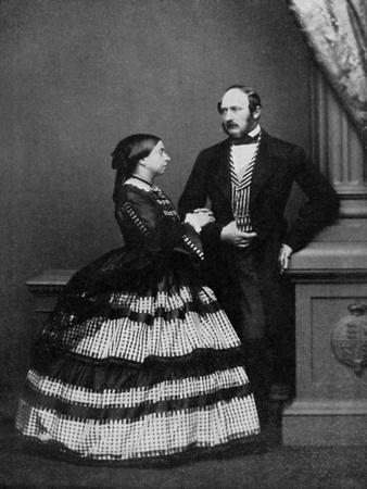 Queen Victoria and Albert, Prince Consort, 1861