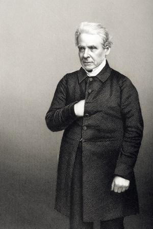 Reverend Thomas Dale (1797-1870) Engraved by D.J. Pound from a Photograph, from 'The Drawing-Room…