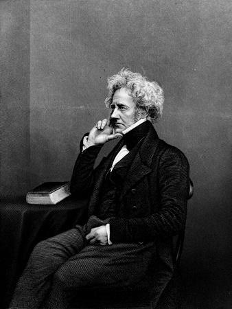 Sir John F.W. Herschel, from 'The Drawing-Room Portrait Gallery of Eminent Personages', 1861